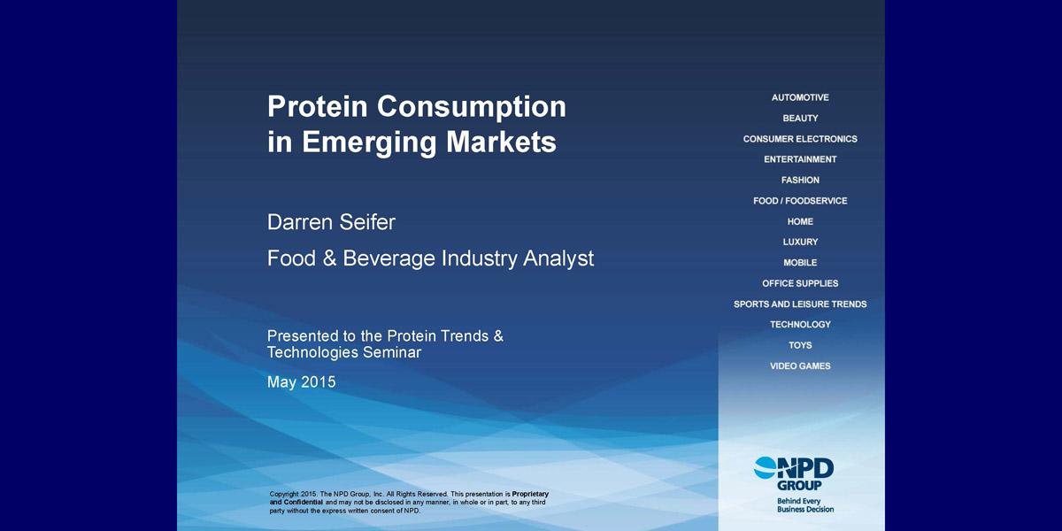 Darren Seifer Protein Consumption Emerging Markets 2015 PTT