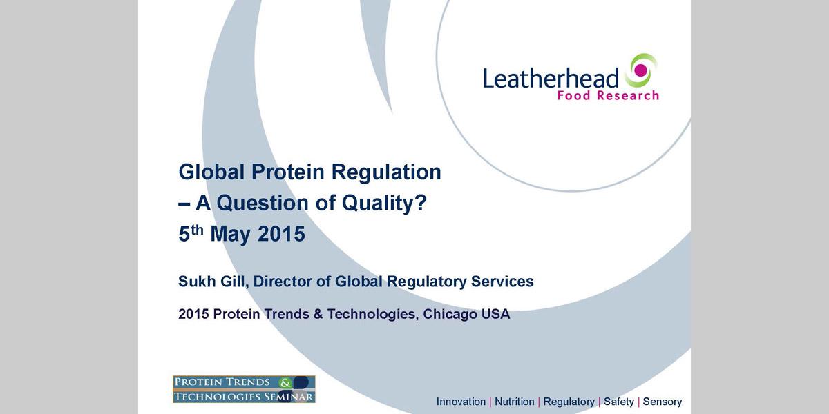 Sukh Gill Protein Regulations 2015 PTT