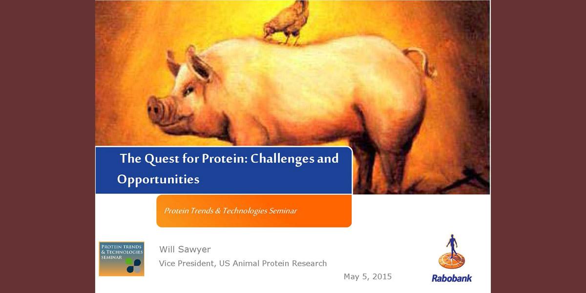William Sawyer Protein Opportunities 2015 PTT
