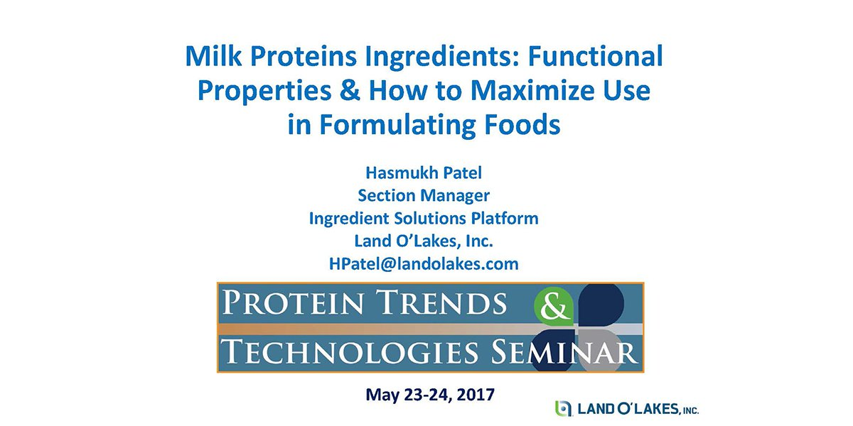 Unlocking the potential of dairy proteins FEATURE