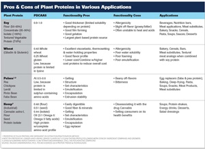 Functional Properties of Plant Proteins