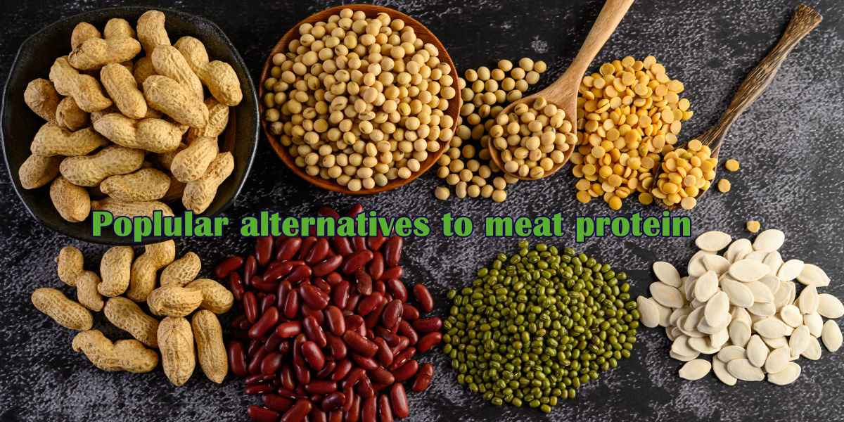 Steak to Shakes: Protein on the Shopping List. Pulses or legumes are popular alternatives to meat protein.