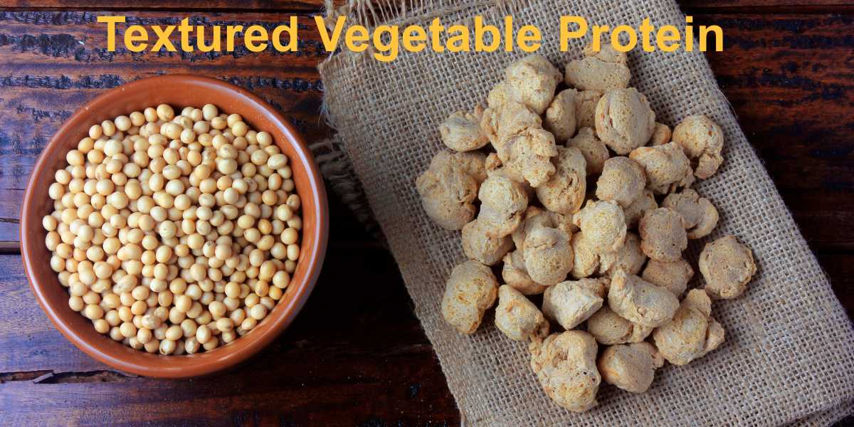 Soybeans are most often used for Textured Vegetable Protein (TVP), which can be used to create chunk-style, shredded or structured meat substitutes.