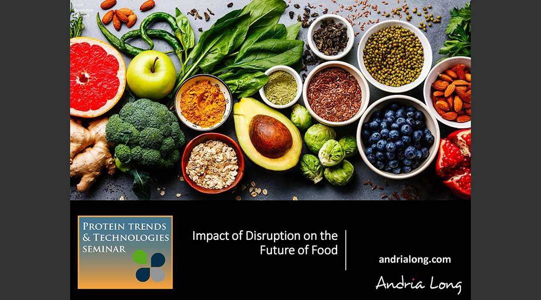 Disruption Impact on Future of Food Presentation