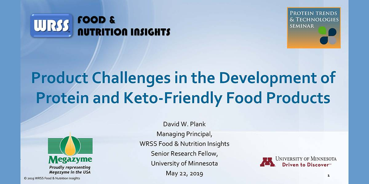 DAVID PLANK DEVELOPMENT CHALLENGES: PDROTEIN AND KETO-FRIENDLY FOODS