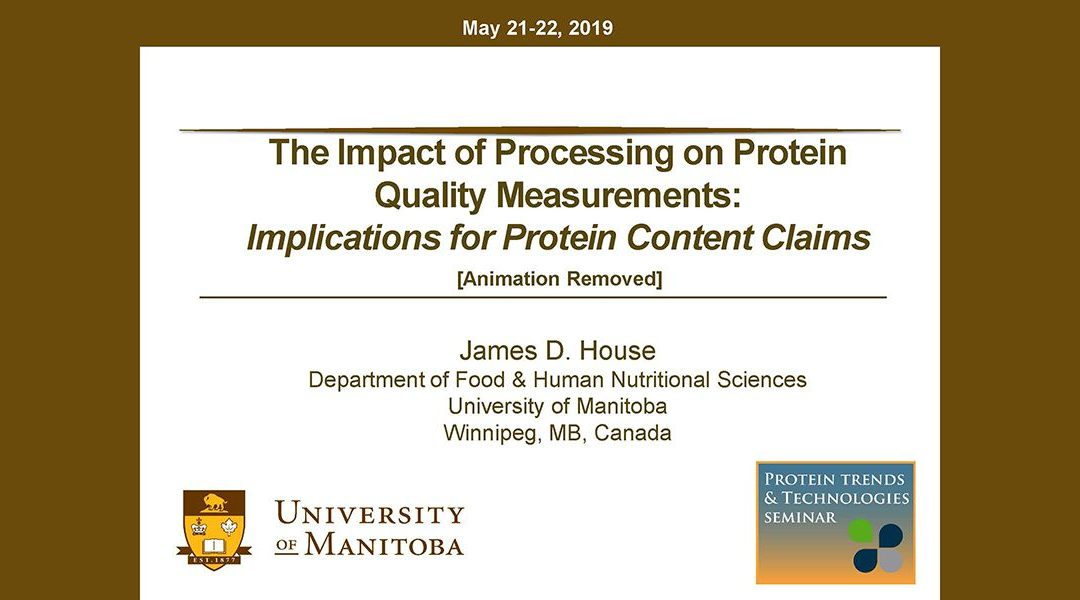 Processing Impact on Proteins Presentation
