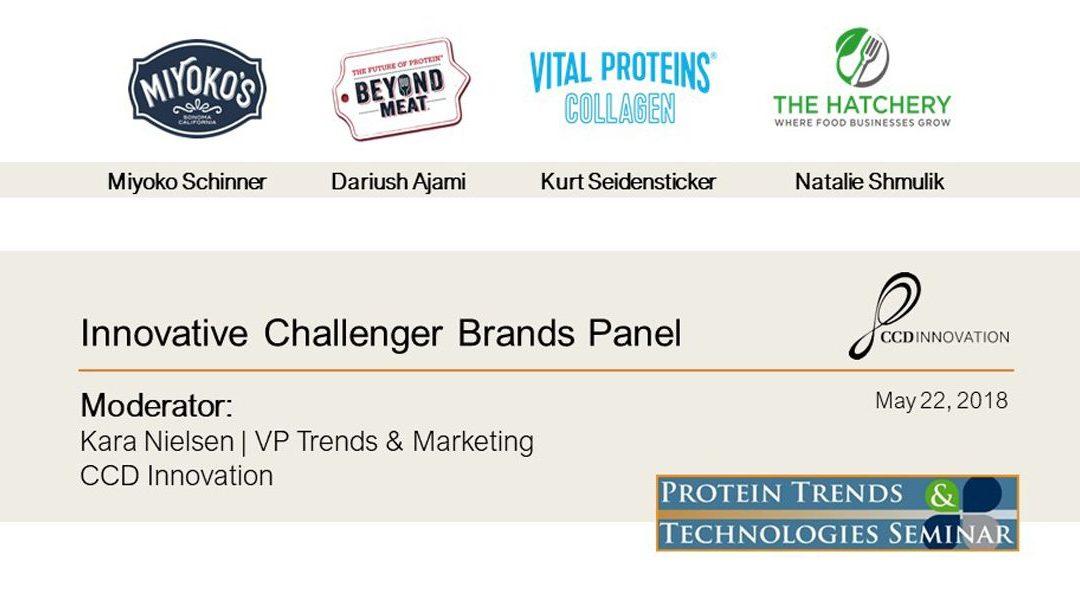 Innovative Challenger Brands Panel Presentations