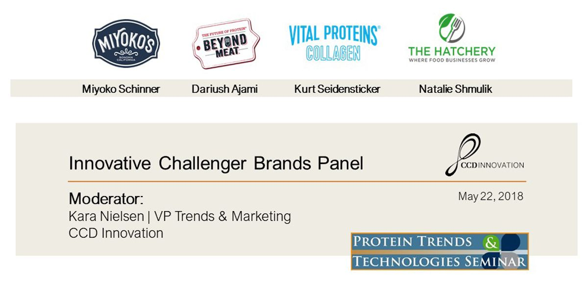 Innovative Challenger Brands Panel Presentations