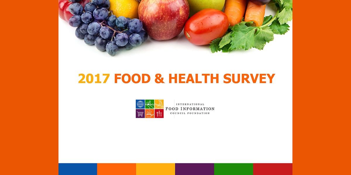 LIZ SANDERS FOOD HEALTH SURVEY IFIC 2017 PTT