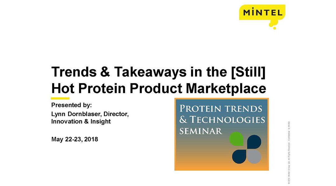 Protein Trends Presentation