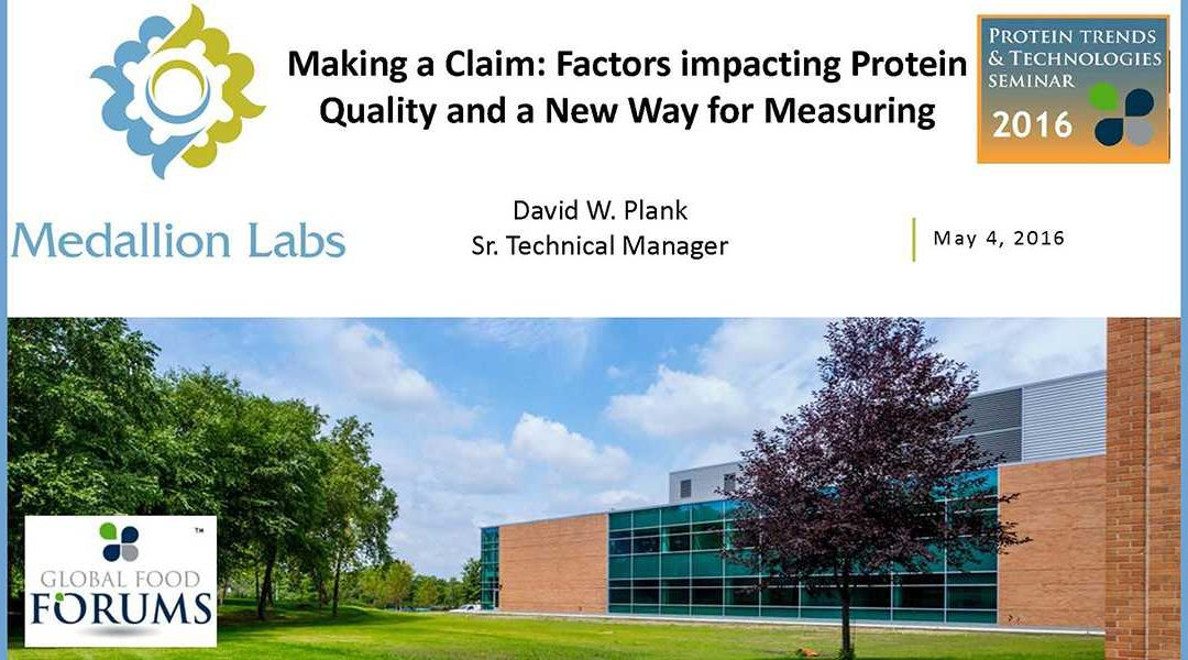 Measuring Proteins for Claims Presentation