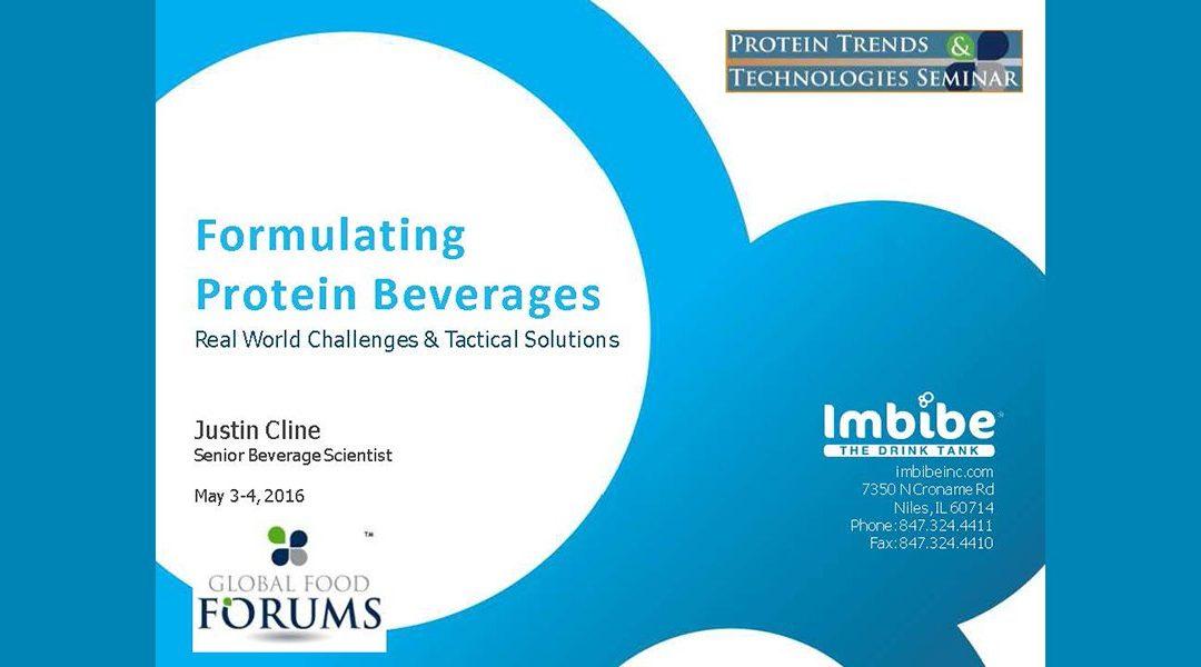 Formulating Protein Beverages Presentation