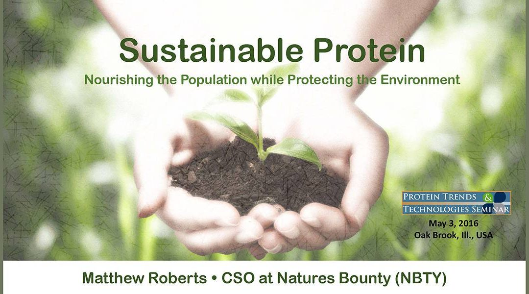 Sustainable Proteins Presentation