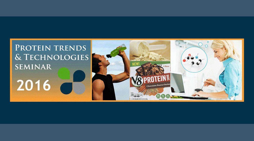 2016 Protein Trends & Technologies Seminar