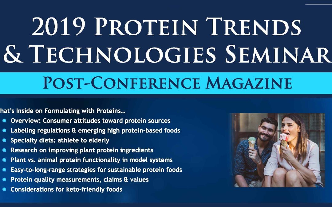 2019 Protein Trends & Technologies Post Conference Magazine