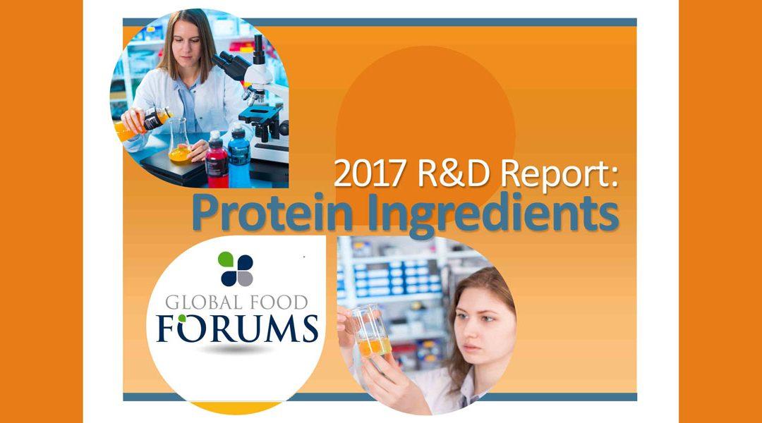 R&D Report: Protein Ingredients