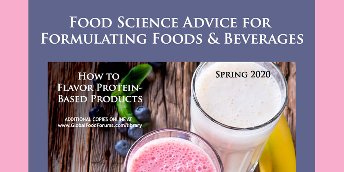 2020 Flavoring Protein Based Products Feature image