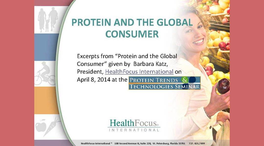 Proteins and Consumers Presentation