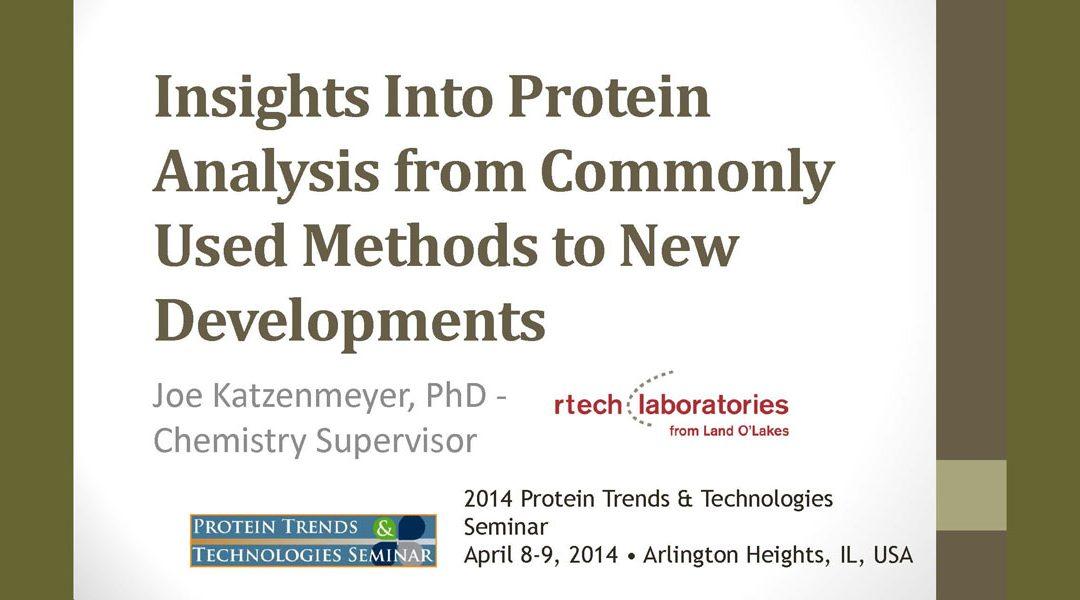 Protein Analysis Presentation