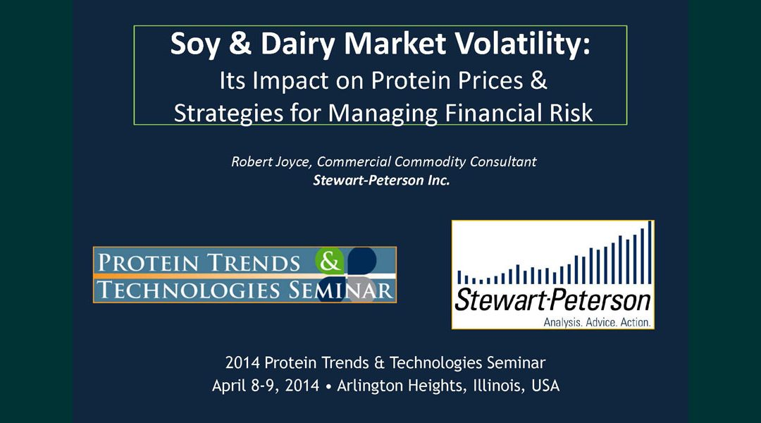 Soy & Dairy Market Volatility: Managing Protein Prices & Financial Risk Presentation