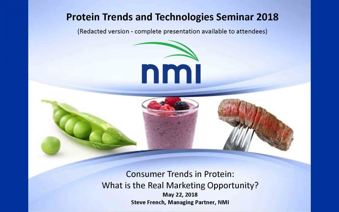 Consumer Trends in Protein Presentation