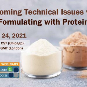 Overcoming Formulation Issues: Protein Ingredients