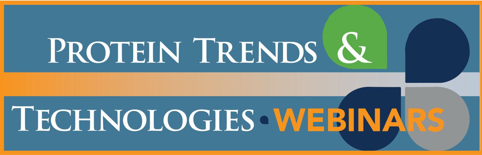 Protein Trends & Technologies Webinars Logo