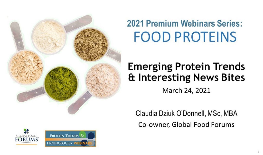 Emerging Protein Trends & Interesting News Bites