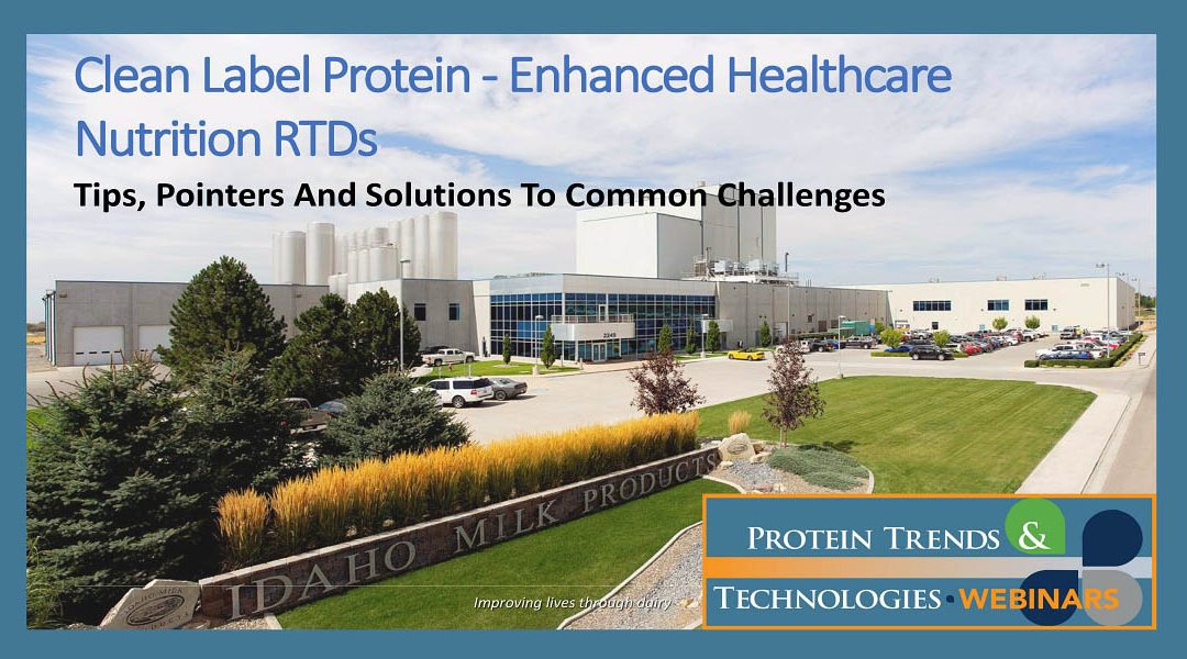 [Webinar] Protein-Enhanced Healthcare Nutrition RTDs