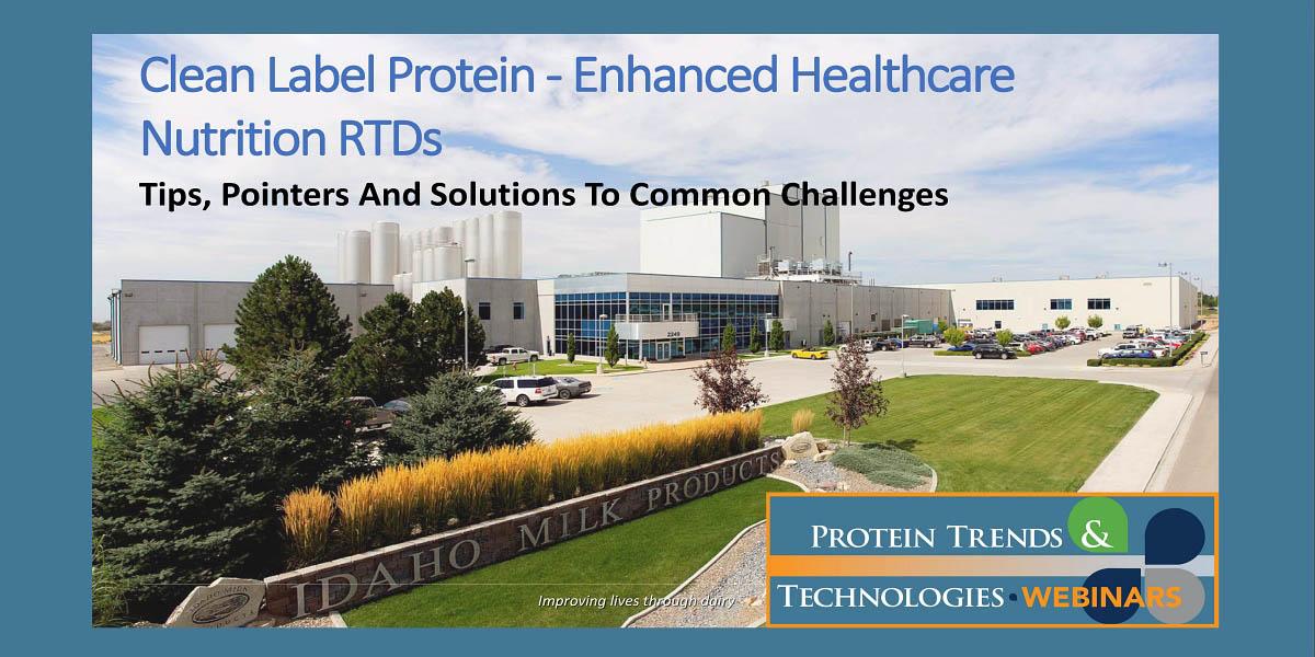 Idaho Milk Products Protein Enhanced Formulas webinar