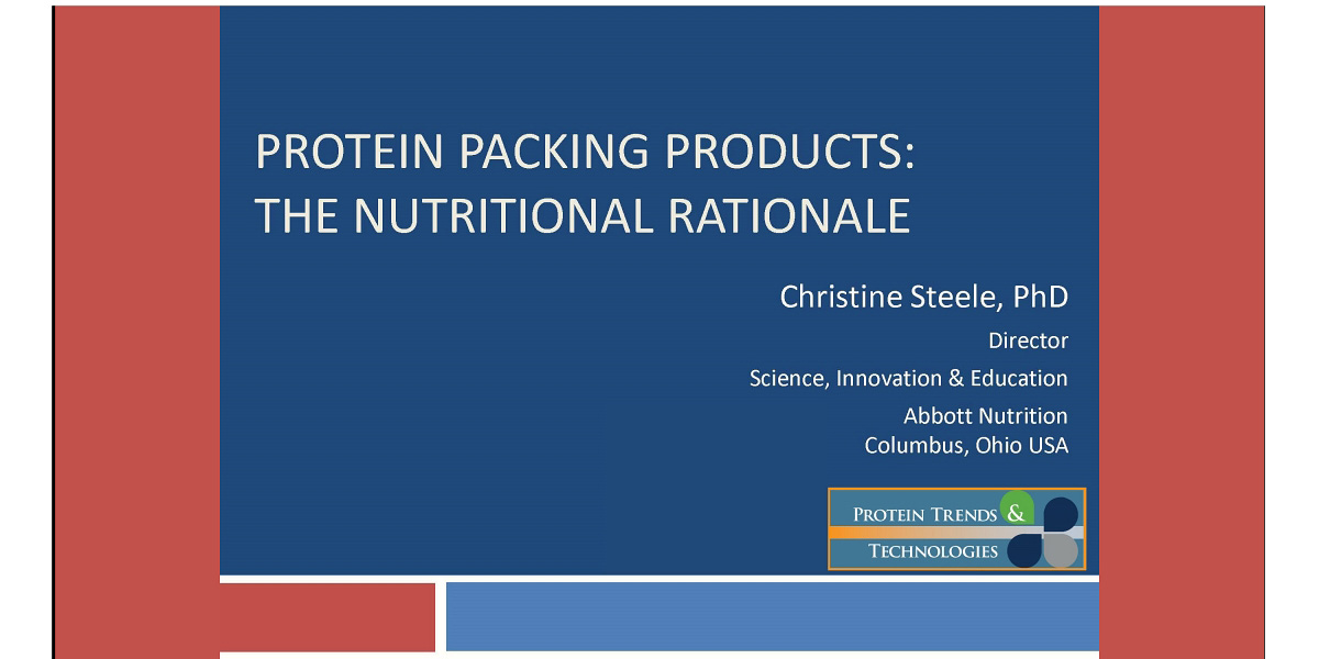 Protein Packing Products by Christine Steele