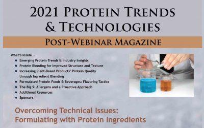2021 Protein Trends & Technologies Webinar Magazine