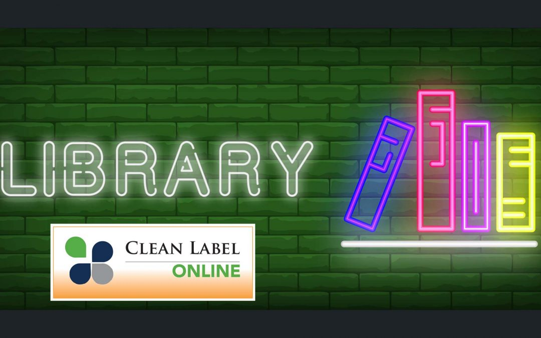 Clean Label Library